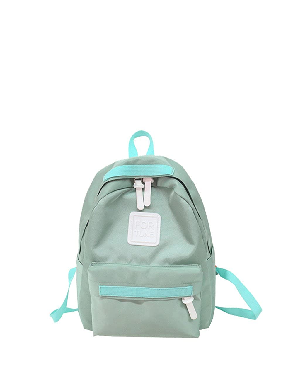 K.X.S Lovers Gifts Womens Backpack Candy Color All Match Casual Backpack Color Green