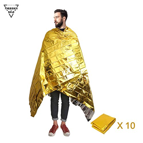 Forbidden Road Emergency Blanket 3 Types First Aid Thermal Survival Foil Warming For Camping Hiking