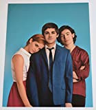 #10: Logan Lerman Signed Autographed 11x14 Photo Perks of Being a Wallflower COA