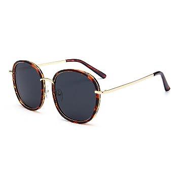 WKAIJC Mode Pop Personalisierte Bequem Anspruchsvoll Leicht Kreativ Retro Männer Und Frauen Sonnenbrillen,B