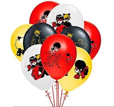 Merchant Medley 24ct Miraculous-Inspired Ladybug Balloons - Large 12