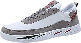 Chaussures ADESHOP Mode Sneakers Homme Chaussure Course à Pied Chaussures De RandonnéE Chaussure De Sport Chaussures à Lacets Les Loisirs Respirant Chaussures Basses Chaussures Quatre Saisons