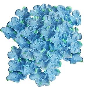 Jili Online 500 Pieces Colors Silk Flower Petals Artificial Flowers for Wedding Hydrangea Supplies 80