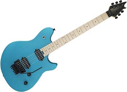 Amazon Com Evh Wolfgang Wg Standard Electric Guitar Matte Blue Musical Instruments