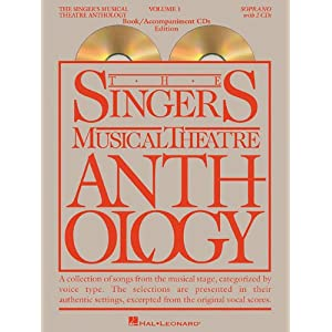 The Singer's Musical Theatre Anthology - Soprano BK/2CDS (Singer's Musical Theatre Anthology (Songbooks))
