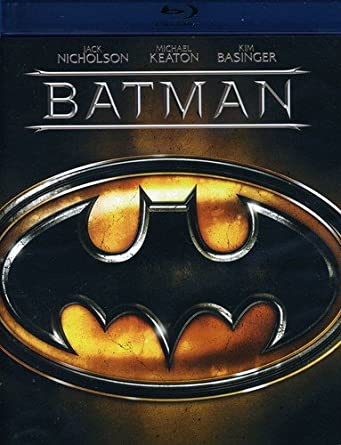 Amazon Com Batman Bd Blu Ray Michael Keaton Jack Nicholson Kim Basinger Tim Burton Movies Tv