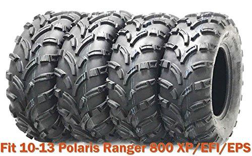 - Set 4 ATV Tires 25x10-12 & 25x11-12 for 10-13 Polaris Ranger 800 XP/EFI/EPS