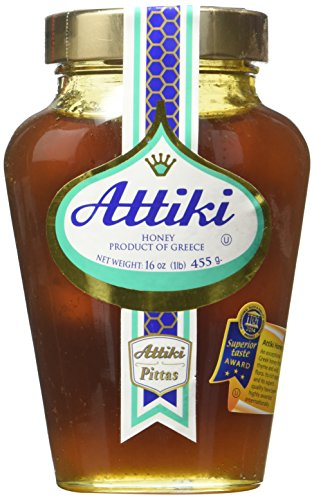 Price comparison product image Attiki Greek Honey 16 Oz Jar