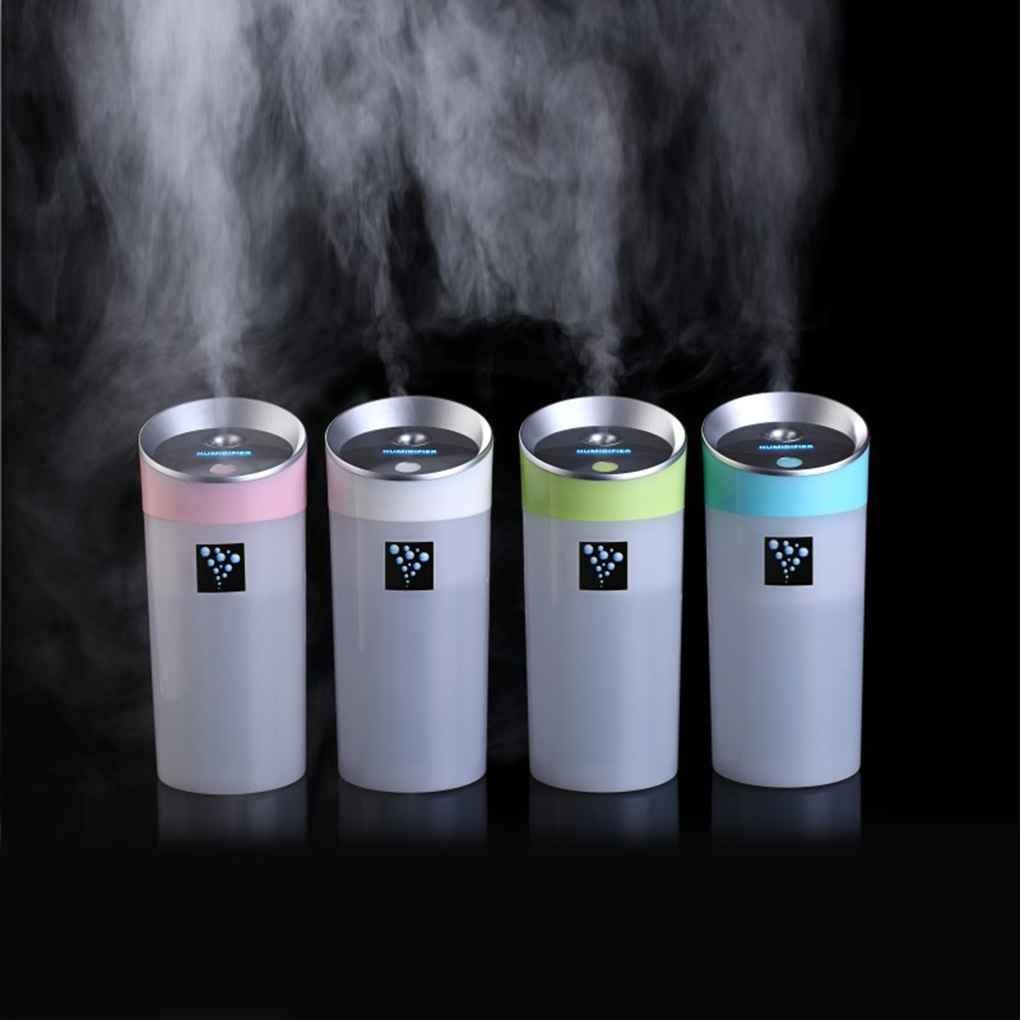 Lorjoy 300ml de la Botella del Agua Forma Forma humidificador de Aire de Carga USB aromaterapia Fabricante de la Niebla
