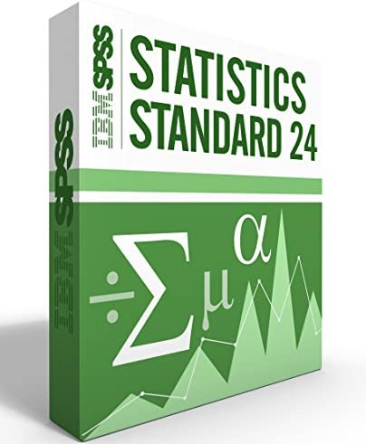IBM SPSS Statistics Grad Pack Standard V24.0 12 Month License for 2 Computers Windows or Mac 51TLv3xE91L