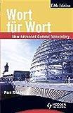 Wort fur Wort: New Advanced German Vocabulary (German Edition)