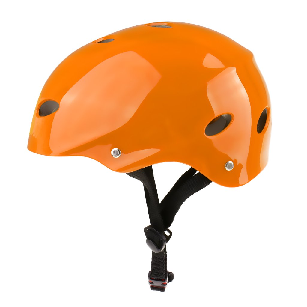 Red//Yellow//White//Pink//Orange//Purple//Green Dolity Ultralight Safety Hard Protection Helmet for Kayak Canoe Surfing Jet Ski Sailing S//M//L