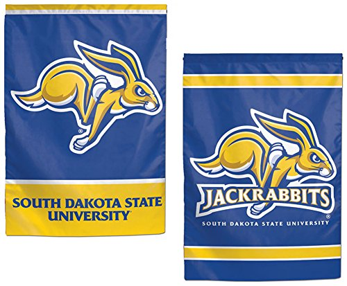 South Dakota State Jackrabbits Garden Flag 12.5 x 18 Inches 2 Sided