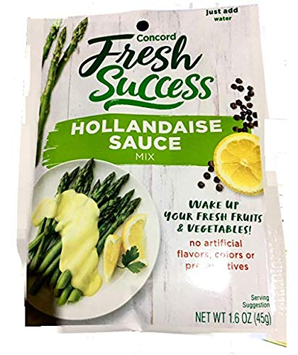 Concord Farms, Hollandaise Sauce Mix, 1.6oz Packet (VALUE Pack of 12 Pouches) by Concord Farms