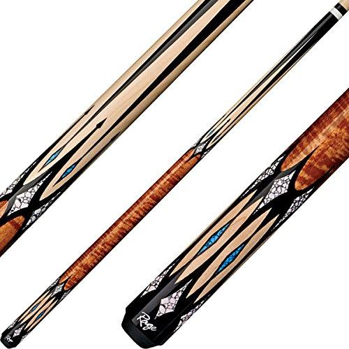 Cherry Wood Pool Cue Stick (Rage Cues - RG203, 19oz)