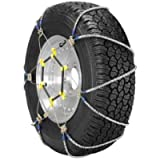 Security Chain Company ZT729 Super Z LT Light Truck and SUV Tire Traction Chain - Set of 2, Silver
