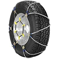 $84 » Security Chain Company ZT729 Super Z LT Light Truck and SUV Tire Traction Chain - Set of 2, Silver
