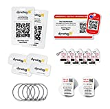 Dynotag Savvy Traveler Gift Pack: An Assortment of Our Most Popular Smart Tags