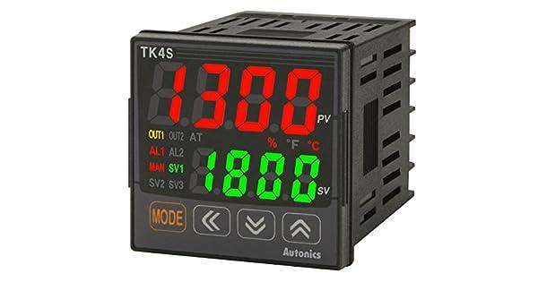Amazon.com: AUTONICS tk4s-r4sn Control de temperatura, 1/16 ...