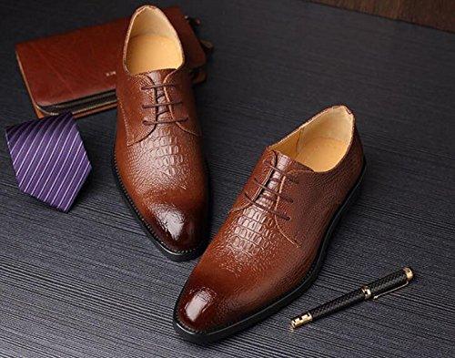 Koyi De Negocios Cintur De Nuevo Cuero para Hombres Zapatos Vestido Acentuado xxwrZW6TpA