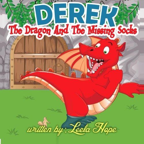 Derek the Dragon and the Missing Socks (Kid Creature Socks)