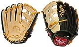 Rawlings Pro Preferred Series 12.75' Baseball Glove Left Black/Tan 12.75