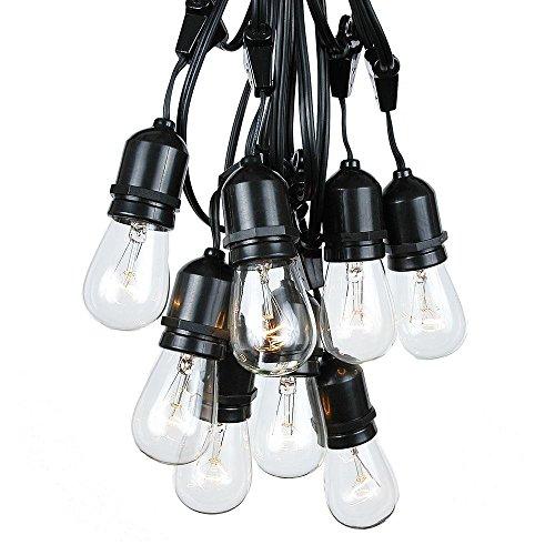 Foot Edison Outdoor String Lights