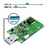 GODSHARK mSATA Adapter, mSATA to USB Adapter, USB