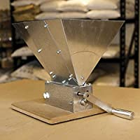 Monster Brewing Hardware MM3 Monster 3 Roller Mill with Base and Hopper, 11 lb