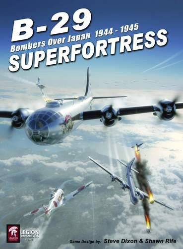 LEGION: B-29 Superfortress, Bombers Over Japan 1944-45, Solitaire Board Game, 2nd Edition