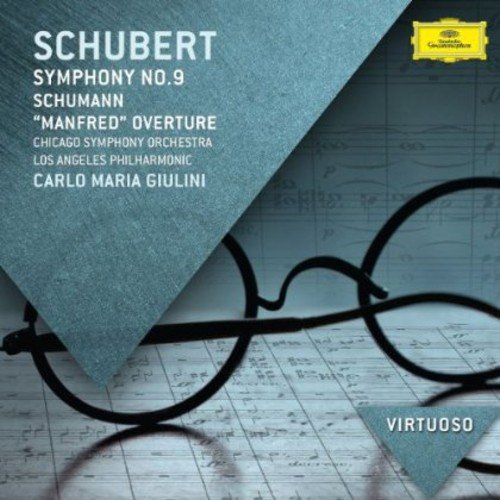 CD : GIULINI / CHICAGO SYMP ORCHESTRA - Virtuoso-schubert: Symphony No.9 In C Major (Germany - Import)