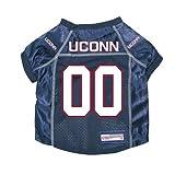 UCONN Huskies Premium NCAA Pet Dog Jersey w/ Name Tag LARGE