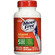Move Free Glucosamine Chondroitin MSM and Hyaluronic...