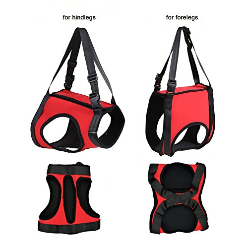 Lifeunion Dog Foreleg And Hind Rear Legs Sling Dog Lift