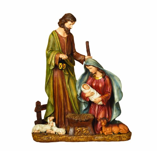 Outdoor Lighted Nativity Figures - 5