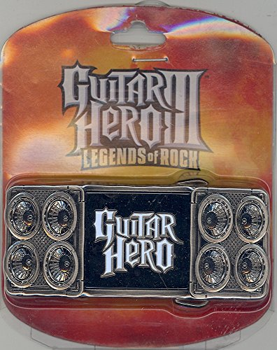 (Guitar Hero 3 Legends of Rock Belt Buckle)