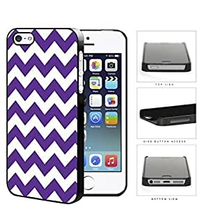 Chevron Design Pattern in Purple Hard Plastic Snap On Cell Phone Case Case For Iphone 6 4.7 Inch Cover WANGJING JINDA