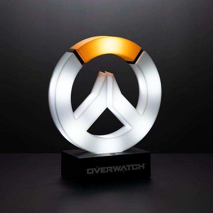 Overwatch – Lámpara de mesa con logotipo, producto oficial de Blizzard: Amazon.es: Hogar