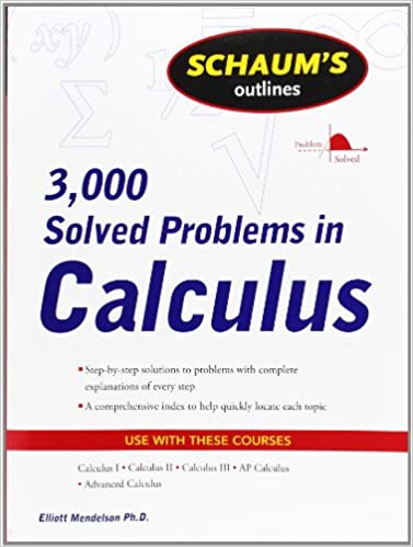 Solving calculus problems