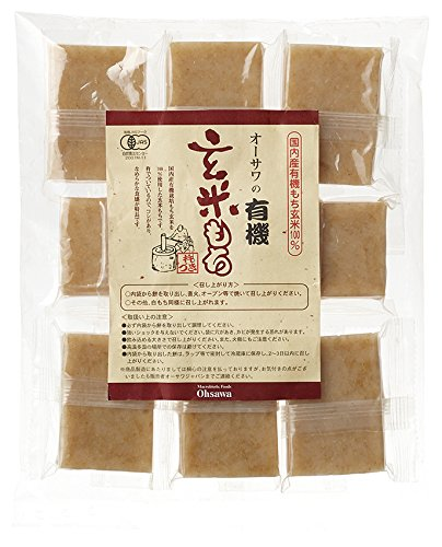 Brown Rice Mochi of Osawa (individually packaged) 11.64oz (Eden Organic Brown Rice)