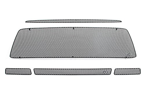 GrillCraft T1966-67B MX Series Black Upper 2pc & Lower 1pc Mesh Grill Grille Insert for Toyota - Grillcraft Tundra Toyota Grille