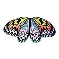 Kids Fairy Butterfly Wings for Girls Boys Dress Up Costume Pretend Play Party Supplies