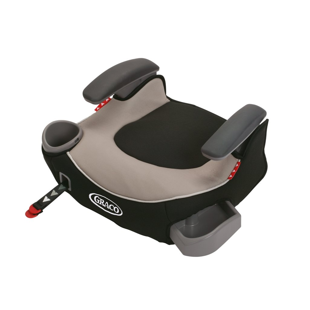 Graco Affix Backless Youth Booster Car Seat with Latch System, Pierce, One Size