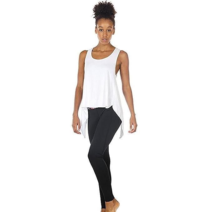 Levifun Camiseta de la Ropa Tops para Mujer, Fitness Yoga ...