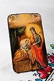 Handmade Icon Faith-healer Orthodox Mary God39;s Mother Blessing Virgin