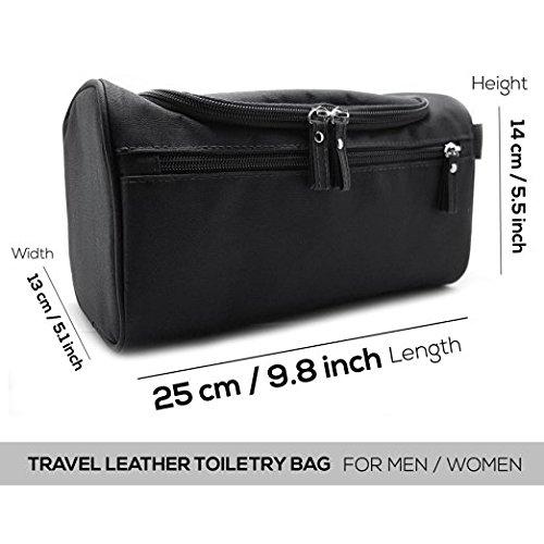 Mister Bag Toiletry Bag Hanging Travel Toiletries Bag, Black by Mister Bag (Image #6)