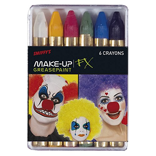 Smiffys Carnival Greasepaint Crayons ()