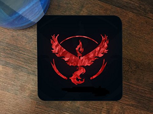 Detailed Fan Made Valor Art w/Black Background Silicone Drink Beverage Coaster 4 Pack by MWCustoms