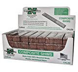 "Nelson Wood Shims 8 "" Composite Wood Pack"