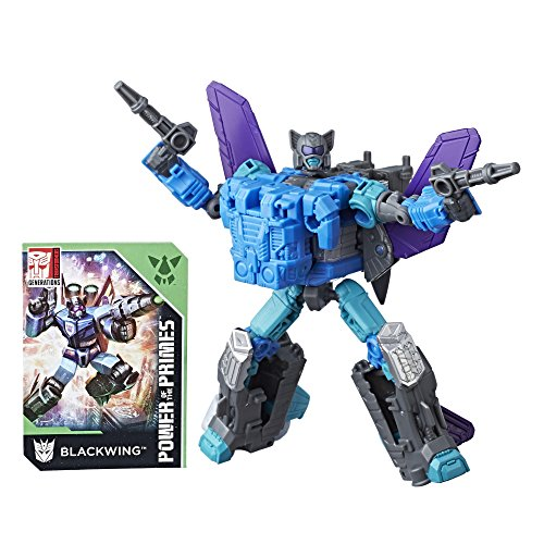 - Transformers Generations Power of the Primes Deluxe Class Blackwing